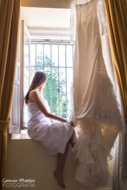 Preparativos en casa de la novia - Carmen Morales Fotografía